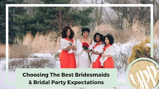 How To Choose The Best Bridesmaids And Have Affordable Bridal Shower |  Wedding On A Budget Video #4