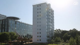Building ten storeys in one day – BROAD sustainable building