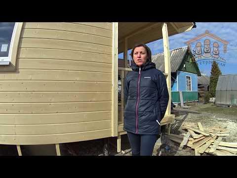 Сперанская Я.Е. - видеоотзыв о строительстве