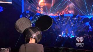 Deadmau5, Professional Griefers - deadmau5 (ft. Gerard Way) Live IHeartRadio Festival