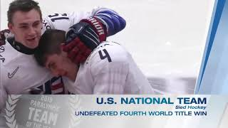 2019 Team USA Awards, presented by Dow | Olympic & Paralympic Teams of the Year, presented by Dow