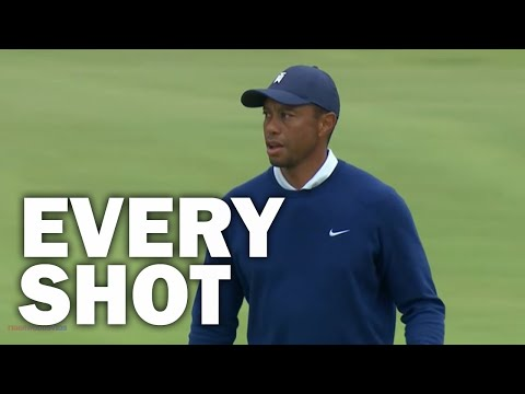 Tiger Woods Every Shot from the 2020 Payne's Valley Cup | Tiger, Thomas, McIlroy, Rose