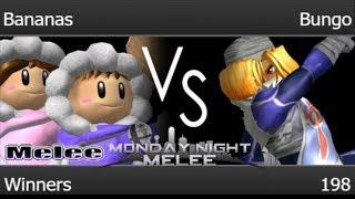 MNM 198 - Bananas (ICs) vs RB | Bungo (Sheik) Winners - Melee