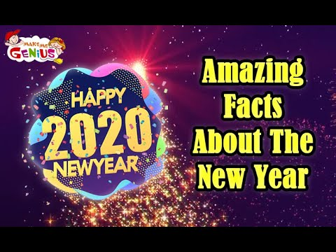 Amazing Facts About The New Year #HappyNewYear
