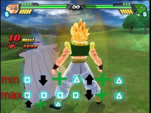 Dragon Ball Budokai Tenkaichi 3 commands and combos