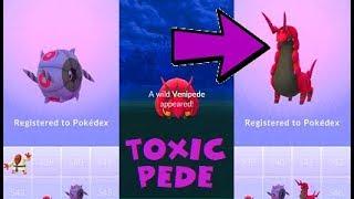 Venipede  - (Pokémon) - Pokemon Go Venipede Catch & Whirlipede-Scolipede Evolutions