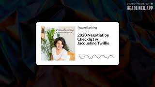 Free Negotiation Checklist