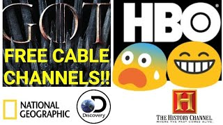 LIBRENG PREMIUM CABLE CHANNELS!! NO MONTHLY FEES!! GAME OF THRONES LIVE!!! QUICK TAGALOG TUTORIAL!!!
