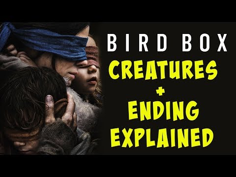 Bird Box Ending Monsters Explained Think Story Video