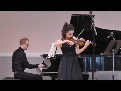Ravel, Maurice: Sonata for Violin and Piano in G major - I. Allegretto. Recorded 3 August 2017. Daniel Espie, Piano.