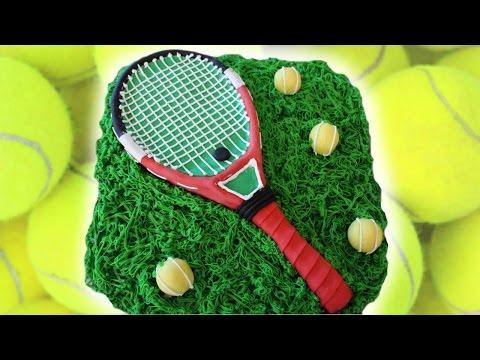 Как создать торт с теннисной ракеткой