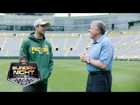 Aaron Rodgers on embracing his spot in Packers' history I NFL I NBC Sports