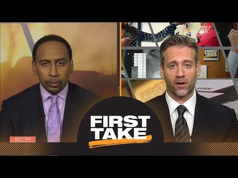 Stephen A. and Max debate whether Ben Simmons is the best young NBA player | First Take | ESPN