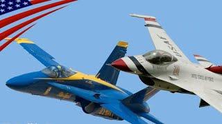 Blue Angels Vs Thunderbirds