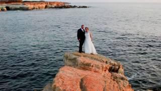 The Cyprus Wedding of Rachel and James, Ayia Kyriaki Church and Villa Panorama, Paphos