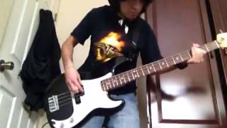 Anthrax - Madhouse (Bass Cover)