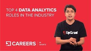 Data Analytics: Top 4 Jobs and Careers
