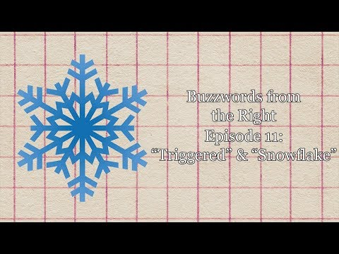 """Buzzwords from the Right, Episode 11: """"Triggered"""" & """"Snowflake"""""""