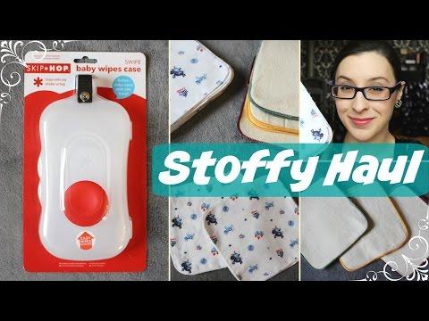 Stoffy Haul - StoffyWelt.de #2 👶 [Cosies/Waschlappen/Stoffwindeln/Erstausstattung]