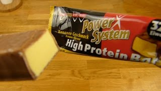 Power System High Protein Bar Banana Flavour 32%