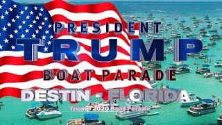 Trump Boat Parade Destin Florida July 4th 2020