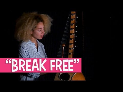 "Lubiana sings ""Break Free"" 