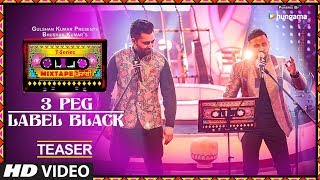 T-Series Mixtape Punjabi: 3 Peg/Label Black (Teaser) | Sharry Mann | Gupz Sehra