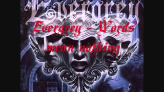 Evergrey   Words Mean Nothing   YouTube