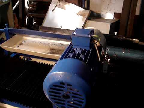 Automatic Plastic Grinder Blade Sharpening Machine With Coolant Pump