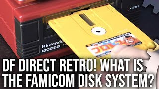 DF Direct Retro! Nintendo's Famicom Disk System - 'Mass Storage' Gaming in 1986?