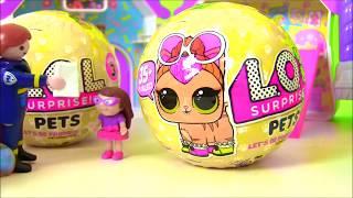 #Лол LoL Surprise Питомцы и Сюрпризы ЛОЛ #Видео для детей! Мультик с игрушками! Куклы ЛОЛ