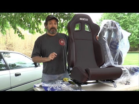 Sparco R100 After Market Seat Install / Review – Ain't