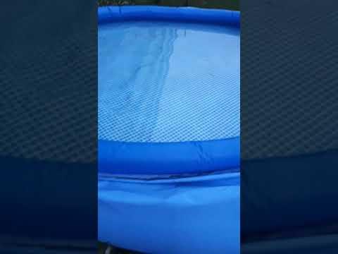 Intex Pool einfach entleeren mit der Filter Pumpe