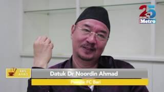 Kafe Ahad   Datuk Dr Noordin Ahmad FC Bari