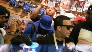 """French Montana @ FYE BRONX 5/21/2013 """"Aint Worried About Nuthin"""""""
