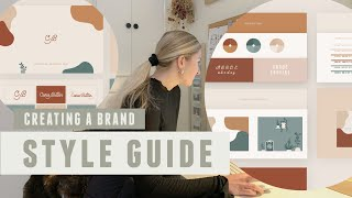 How to Create a Brand Style Guide, tips from a Graphic Designer