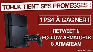 Torlk Le Bricoleur Et PS4 à Gagner !