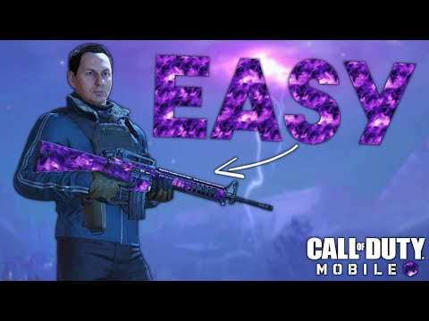 FASTEST AND EASIEST WAY TO GET THE *NEW* AETHER CRYSTAL CAMO in Call of Duty Mobile
