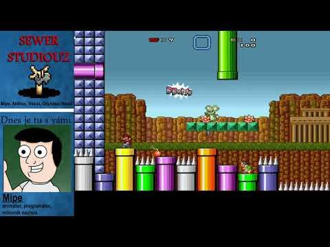 Super Mario Bros. X : VOXOVY LEVELY #1 (1-1 & 1-2)
