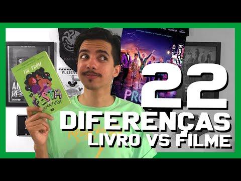 LIVRO vs FILME - The Prom: A Festa de Formatura | Estante Quadrada