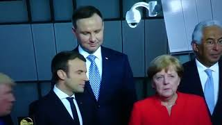 Tak właśnie wygląda nasz Andrzej w Europie.