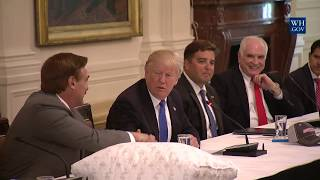 President Trump Leads Made in America Roundtable