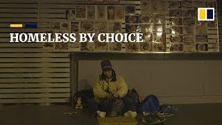 The Hong Kong man who chose to be homeless, and still has no regrets