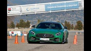 Vídeo | Mercedes-AMG GT R - Esquiva y eslalon