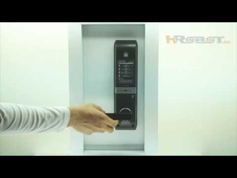 Врезной биометрический умный замок H-Gang TM901