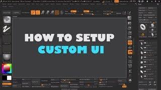 zbrush custom ui - Free video search site - Findclip Net