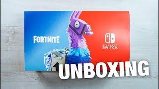 Nintendo Switch Fortnite Bundle - Console Unboxing! Double Helix Skin