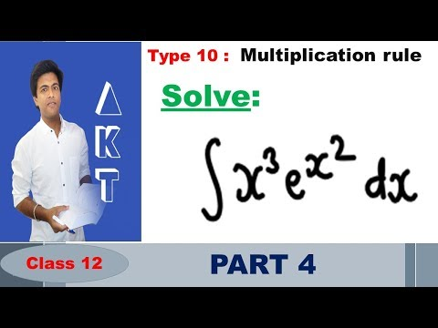 Integration Type 10 : Multiplication rule : Part 4
