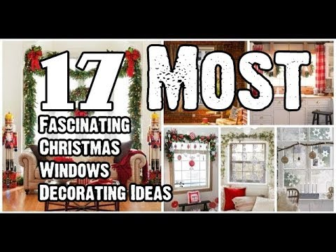 17 Most Fascinating Christmas Windows Decorating Ideas