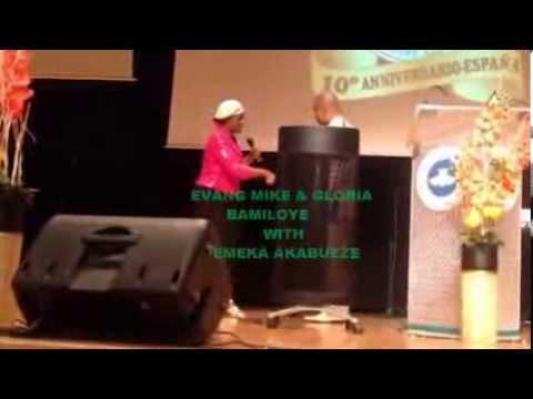 AFRICAN M.Z FILM. EVANG MIKE & GLORIA BAMILOYE IN RCCG SPAIN